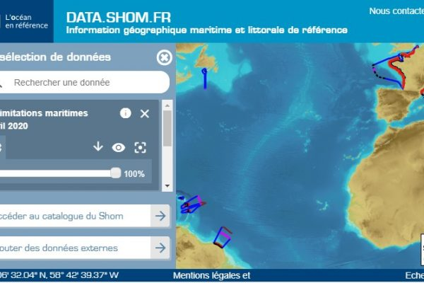 Data Shom carte interactive